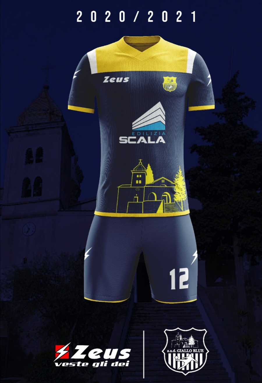 Kit giallo bleu Gragnano 2020 2021