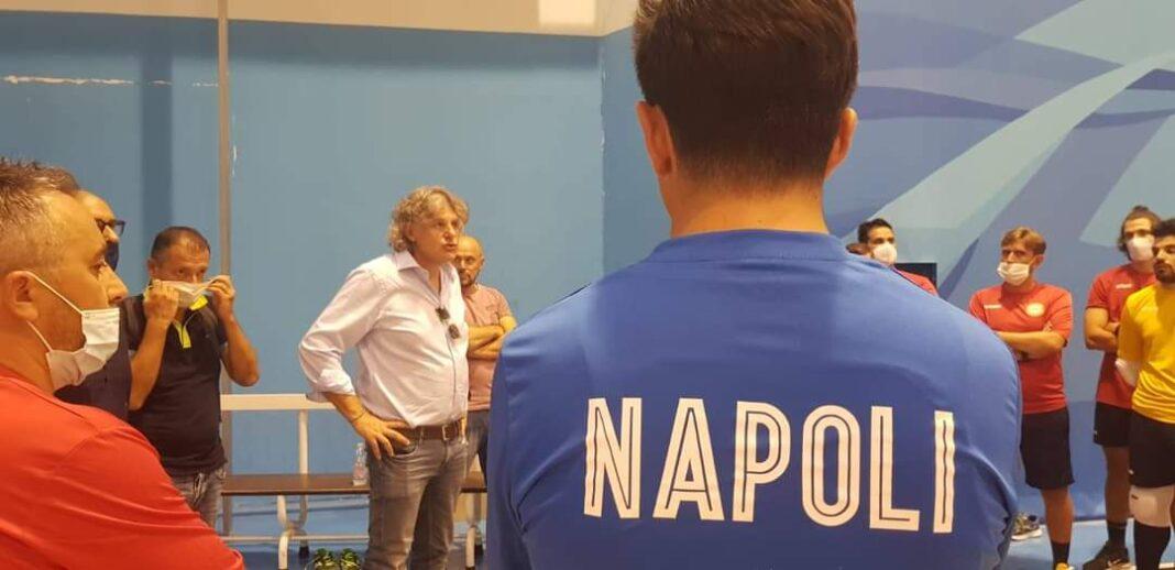borriello replca all'ff napoli calcio a 5