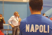 borriello replca all'ff napoli calcio a 5
