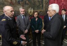 Consiglio Supremo della difesa italiana Mattarella convoca
