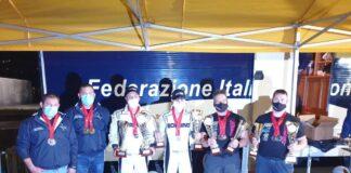Diego Testa e suo figlio Massimiliano conquistano il triplete Mondiale, Europeo e Campionato italiano della motonautica