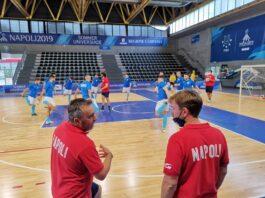 FF Napoi calcio a 5 Intervista al vice di Basile e allenatore Under 19, Nicola Ferri