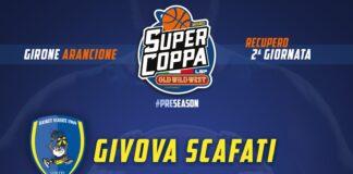 Givova Scafati vs GE.VI. Napoli viene posticipata al 5 novembre