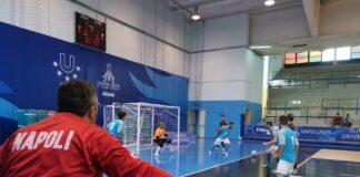 Pari nel test amichevole tra FF Napoli Calcio a 5 ed Ecocity Pro Cisterna