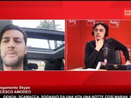 Francesco Amodeo Siamo in guerra contro i nuovi nazisti. La protesta oggi pomeriggio a Napoli
