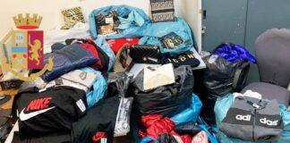 abiti contraffatti napoli polizia