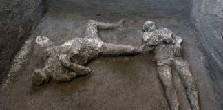 Scavi di Pompei scheletri