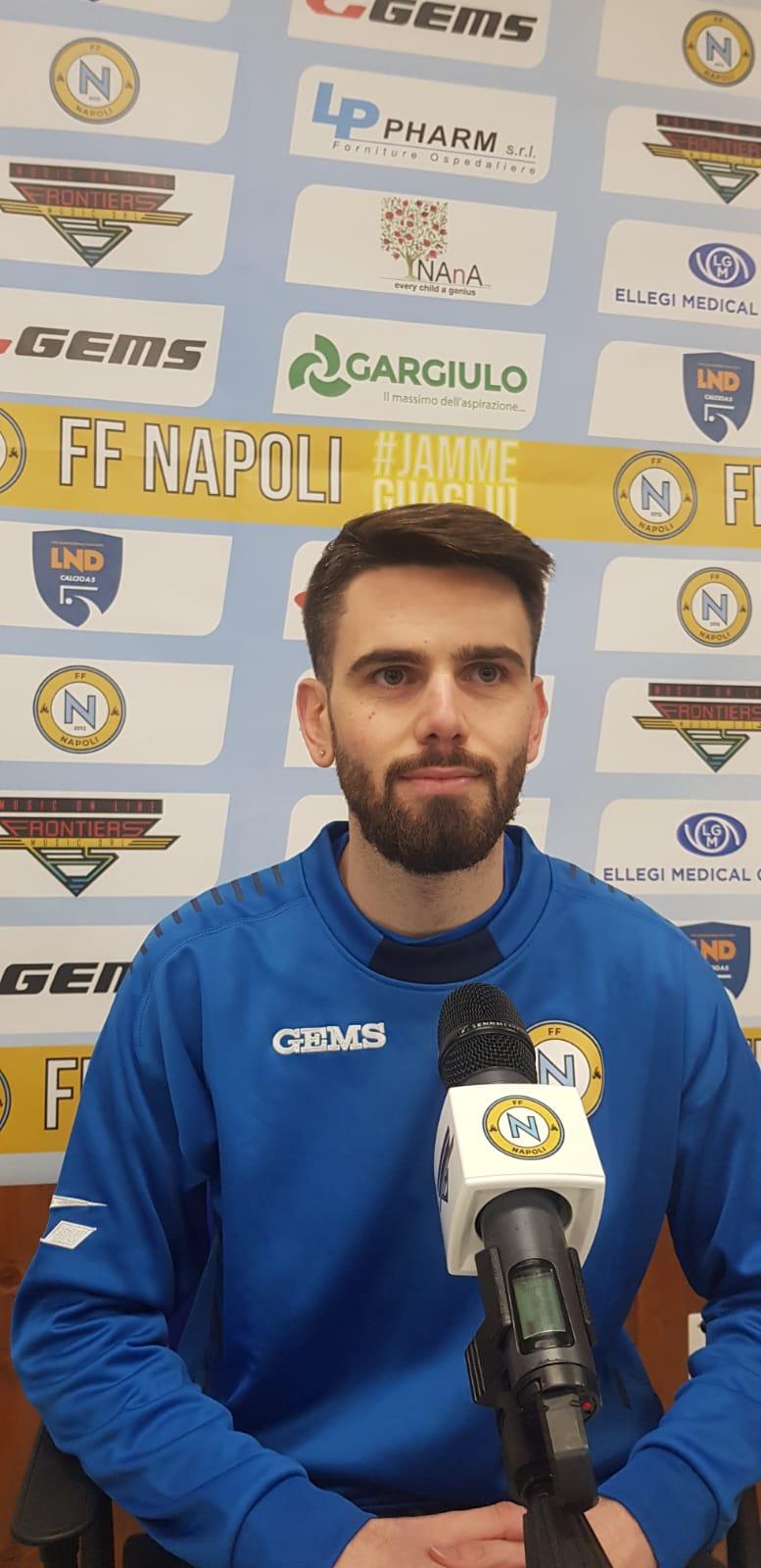 La FF Napoli calcio a 5 accoglie il laterale Milucci