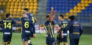 La Juve Stabia torna al successo. Potenza battuto 2-0