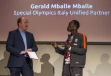 La nuova vita di Gerald Mballe Primo consulente, a livello mondiale, del programma Unificato di Special Olympics con i rifugiati