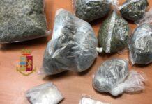 caivano droga marijuana polizia
