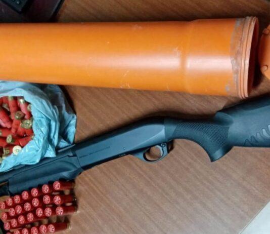 fucile polizia sant'anastasia