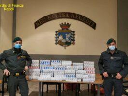 guardia di finanza napoli contrabbando sigarette