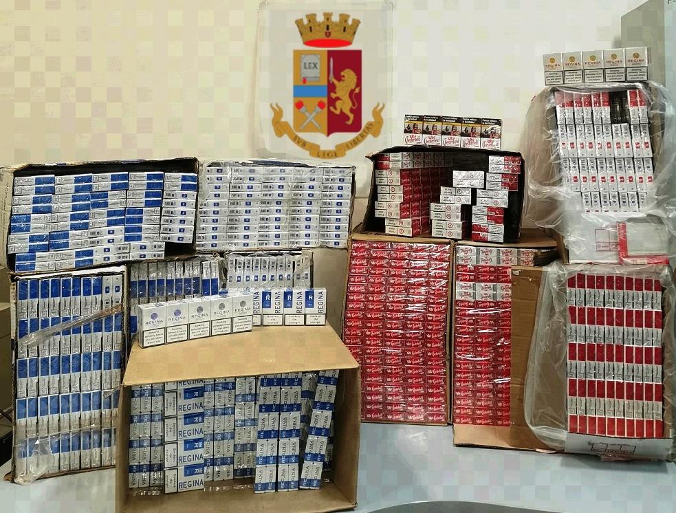 sigarette di contrabbando regina napoli
