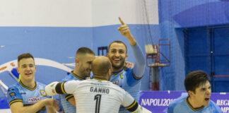 Per il Napoli calcio a 5 arriva il poker ai danni del Città di Cosenza