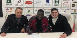 Per la Turris arriva la firma del difensore Malik Thioune Lame