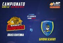 La Givova Scafati si prepara per il match in casa dell'Orasì Ravenna