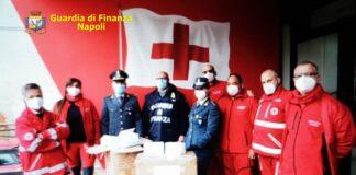 mascherine finanza croce rossa