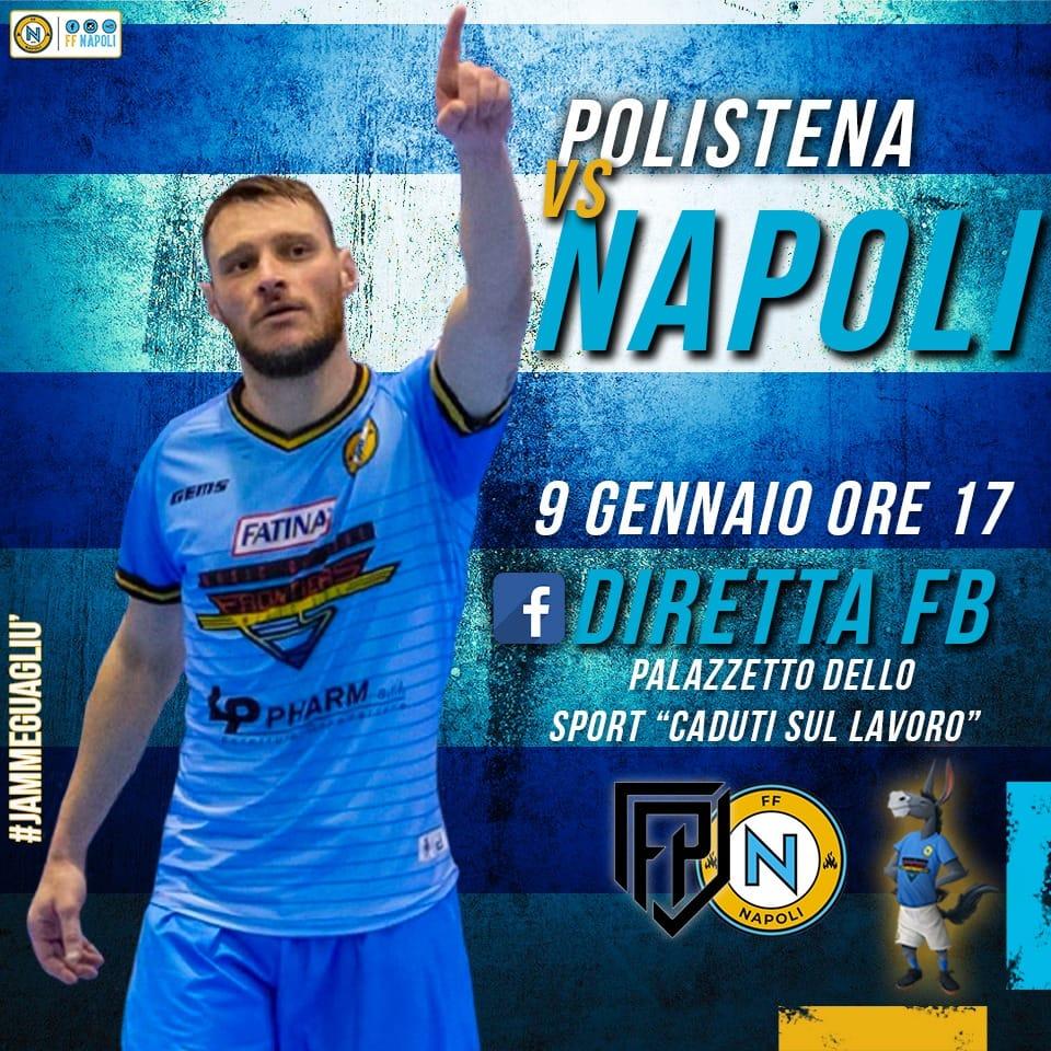 FF Napoli calcio a 5 giocherà questo sabato in casa contro il Futsal Polistena. Le parole di Turmena