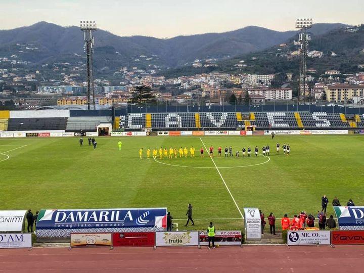Un altro derby campano In casa della Cavese la Juve Stabia vince in rimonta