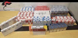 afragola contrabbando sigarette carabinieri