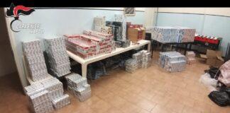 contrabbando sigarette afragola carabinieri