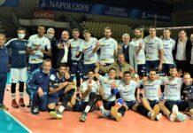 La Normanna Aversa Academy fa emozionare: 3-1 a Tuscania. Adesso il sogno play off per la Serie A2