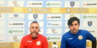 FF Napoli calcio a 5 Al Centro Sportivo Cercola il match contro il Città di Melilli