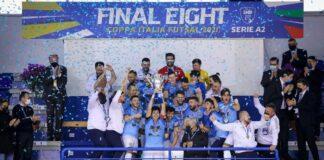 Calcio a 5 FF Napoli fa sua anche la Coppa Italia A2