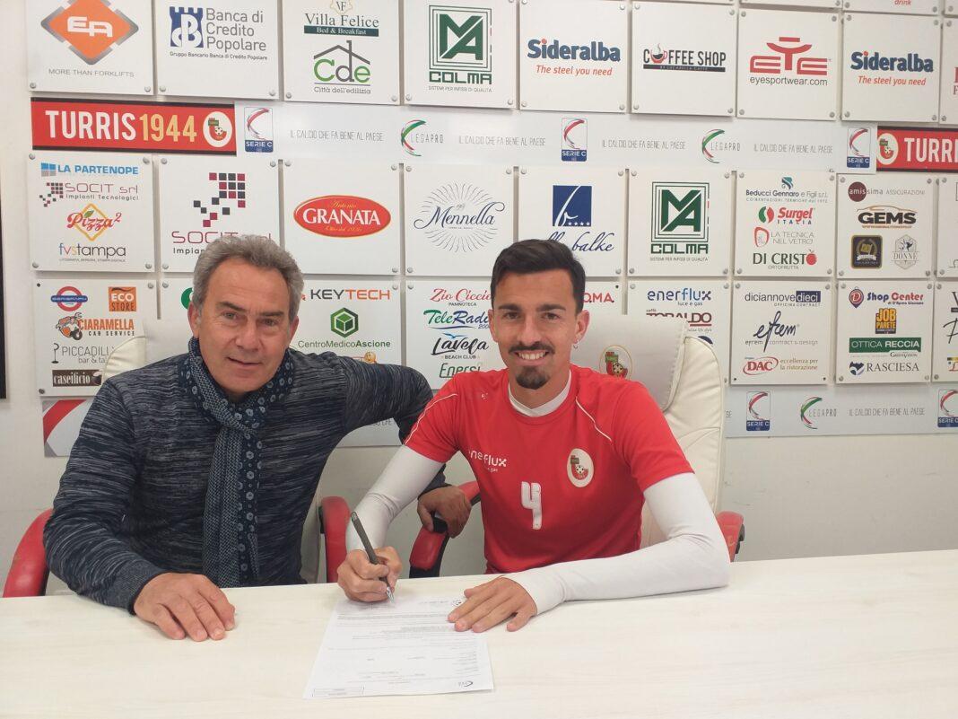 La S.S. TURRIS CALCIO comunica il prolungamento del rapporto professionale con il calciatore Daniele Franco.