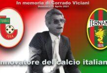 Turris-Ternana verrà giocata in nome di Corrado Viciani