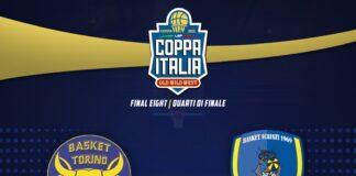 Final Eight di Coppa Italia: La Givova Scafati pronta per il quarto di finale contro Reale Mutua Torino