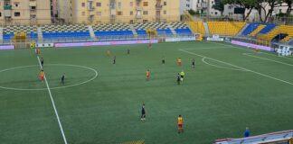 Juve Stabia L'allenamento congiunto contro la Polisportiva Santa Maria termina con il punteggio di 4-0