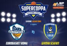 Basket, Supercoppa 2021: La Givova Scafati a Roma per il primo posto nel girone