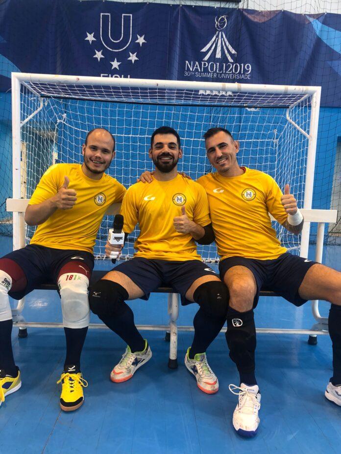 Napoli Futsal: Molitierno, Ganho e Capiretti chiudono la porta degli azzurri