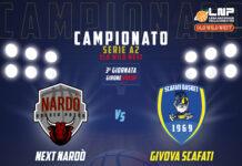 Givova Scafati La terza vittoria in campionato passa per Nardò
