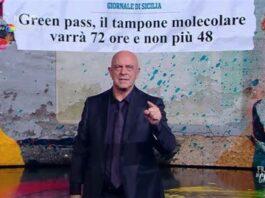 Maurizio Crozza ed il suo monologo sul Green pass Il Green pass è un sotterfugio che serve a far vaccinare anche chi non vuole