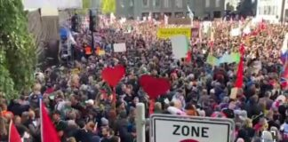 Svizzera Proteste contro il pass sanitario anche a Berna